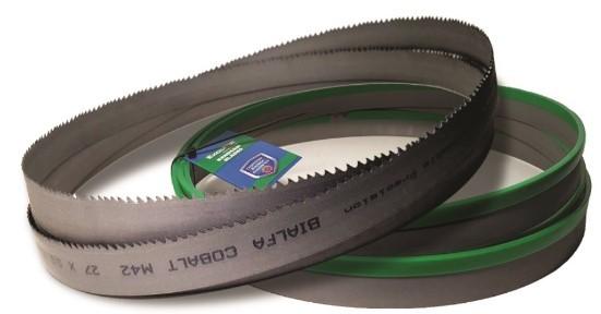 Plastic cutting bandsaw blades