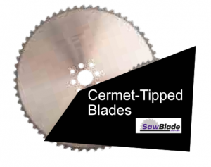 Cermet Tipped Circular Blades